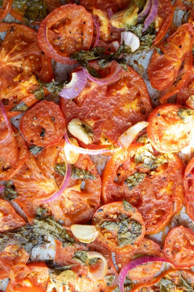 roasted fresh tomatoes