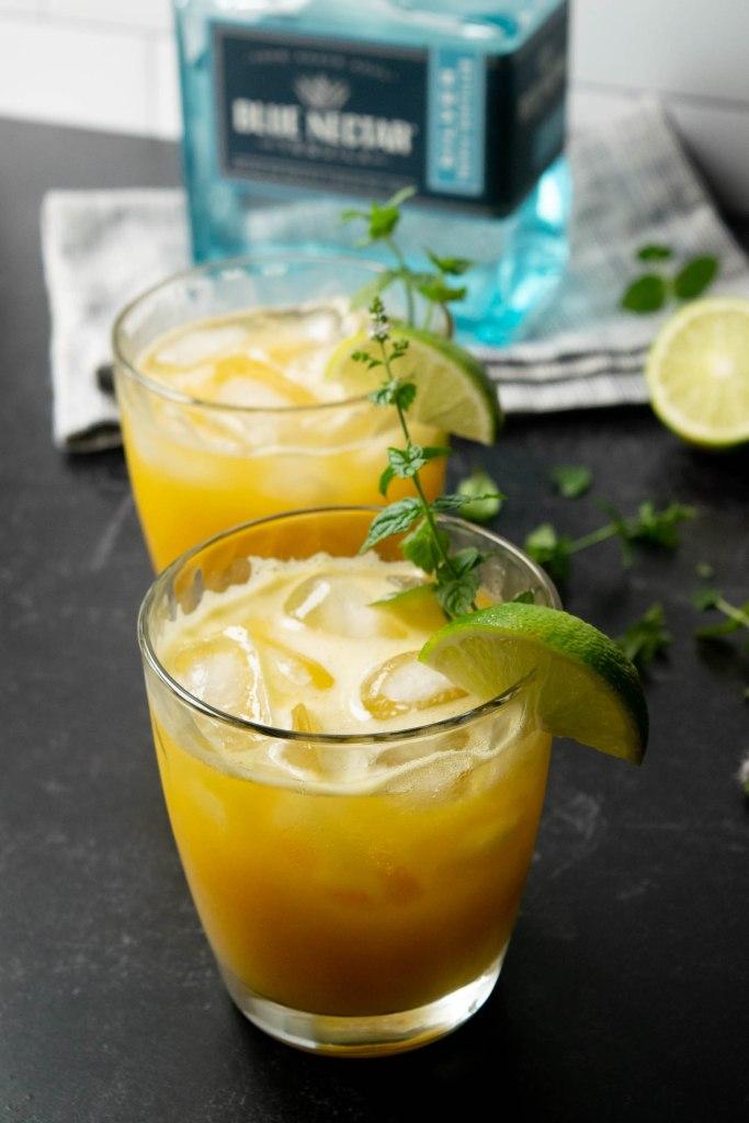 fresh mango juice margarita