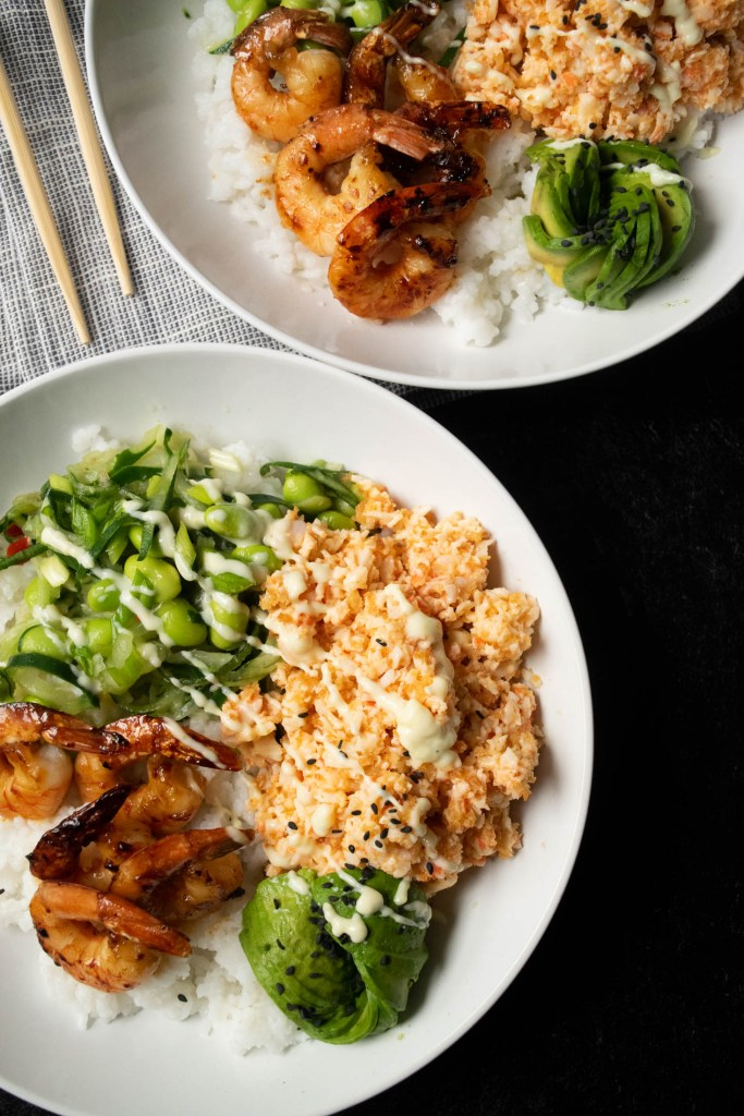 easy sushi bowls