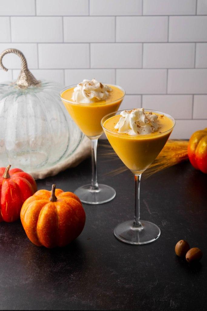 pumpkin cream drinks