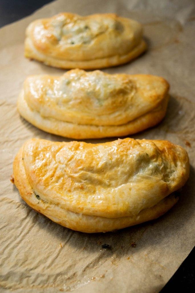 baked breakfast pockets
