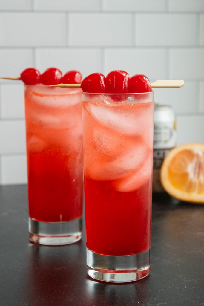 shirley temple with gin