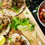 Easy Crockpot carnitas tacos