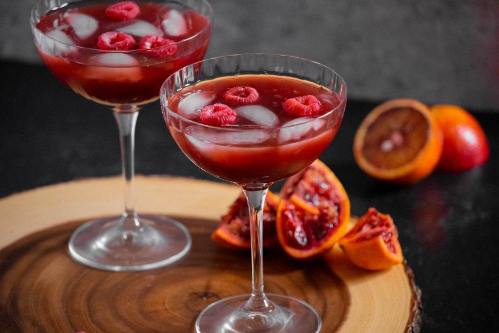 Berry Blood Orange Rum Punch-13
