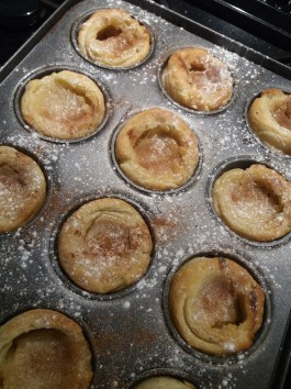 The cooled pastel de nata: not perfect but dang tasty!