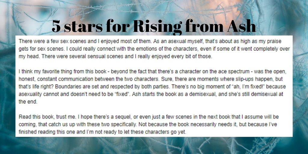 Rising from Ash at the lesfic book club 3