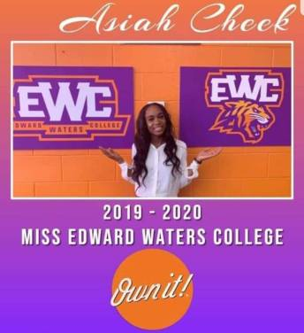 Image of Miss Edward Waters College 2019 - 2020 Asiah Cheek