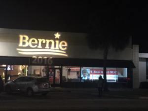 Bernie over Trump