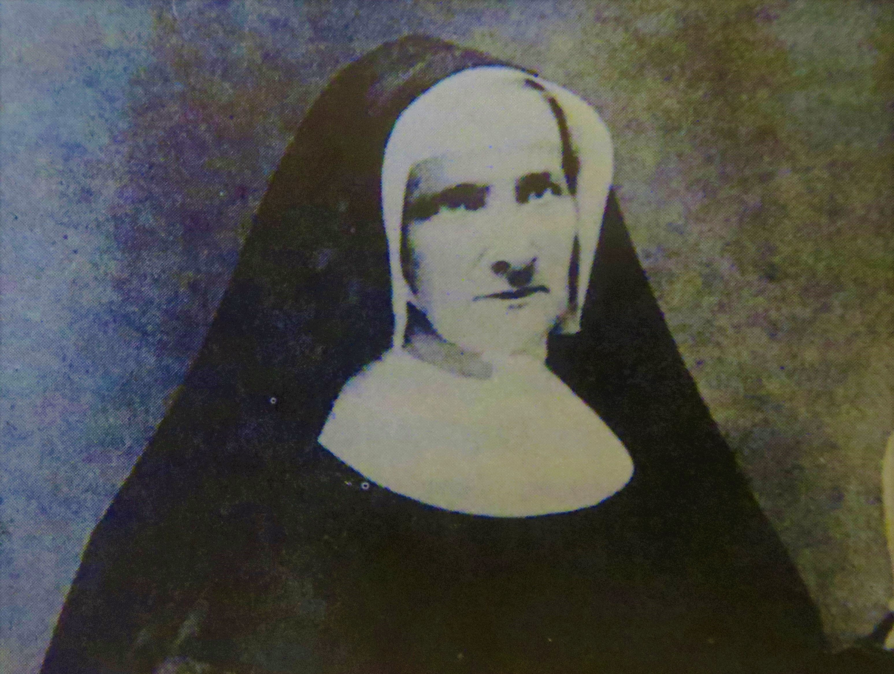 6994b205 Sister Mary Ann, from A History of the Church of the Immaculate Conception  by Emanuel Danese