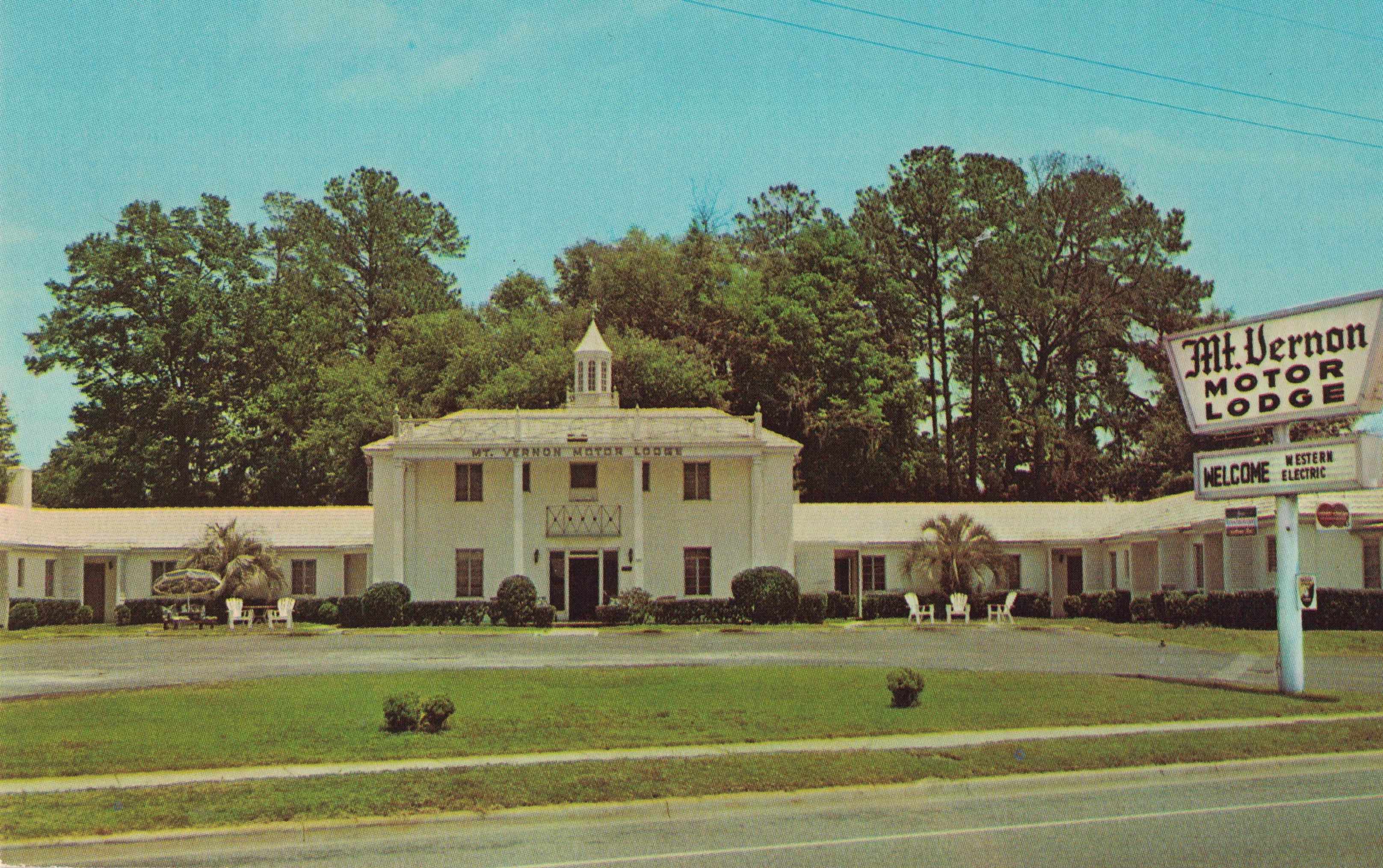 Mount Vernon Motor Lodge | jaxpsychogeo