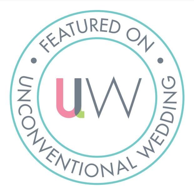 Featured on Unconventional wedding
