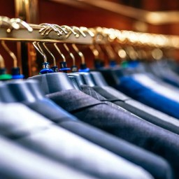 Rack full of suits how best clean your suits a blog post from Jaxson Maximus Miami