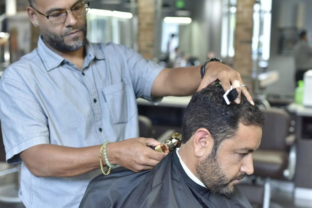 Jaxson Maximus Men's Haircut