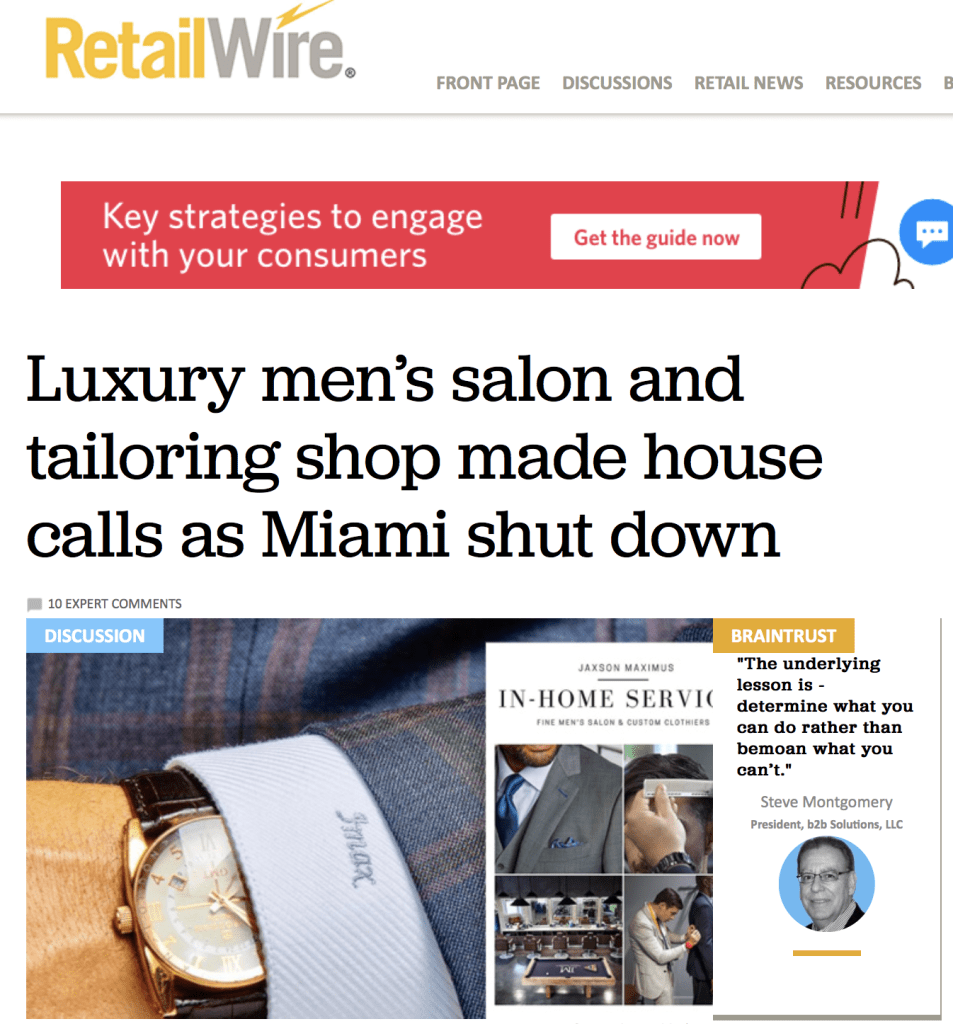 Retail wire article