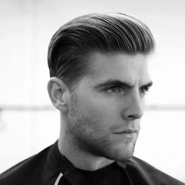 The Classic Comb Back mens short hairstyles