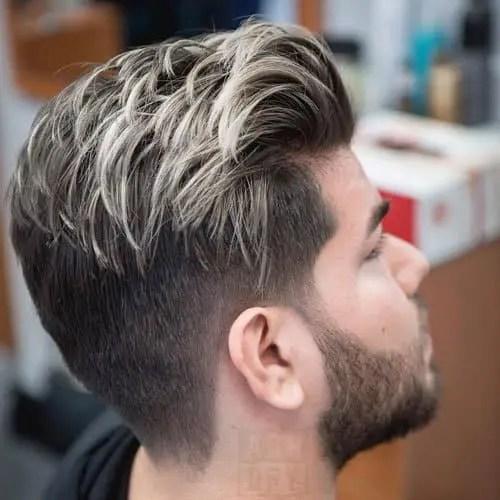 Black-Hair-with-Blonde-Streaks