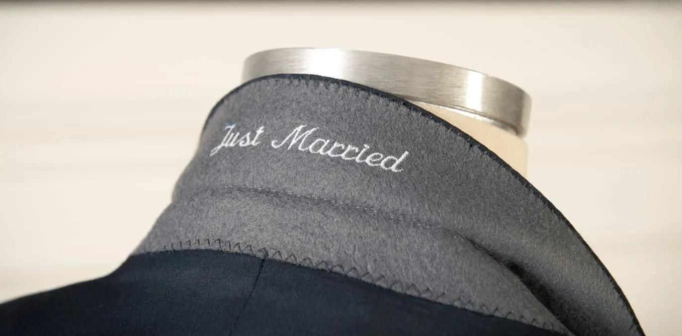 bespoke tailor made wedding tuxedo