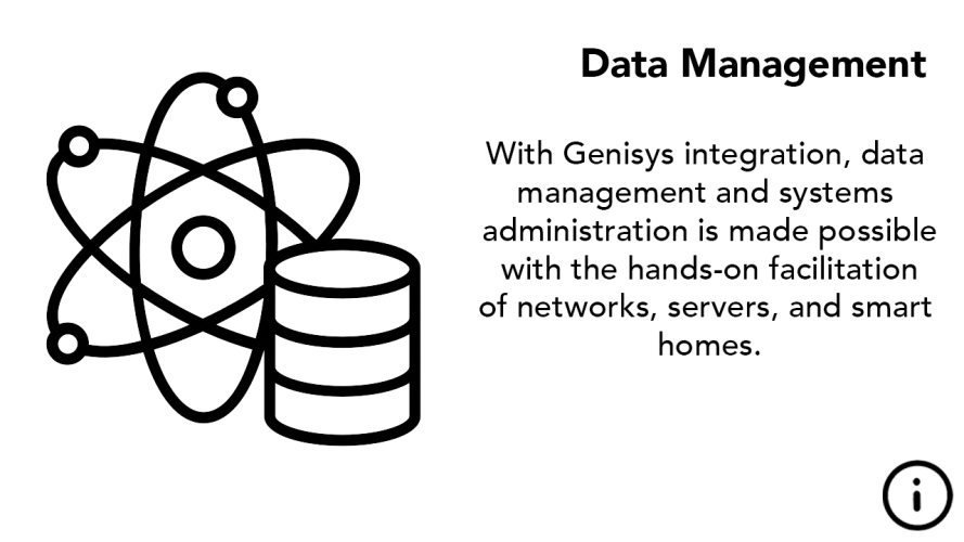 IT Data Management Icon