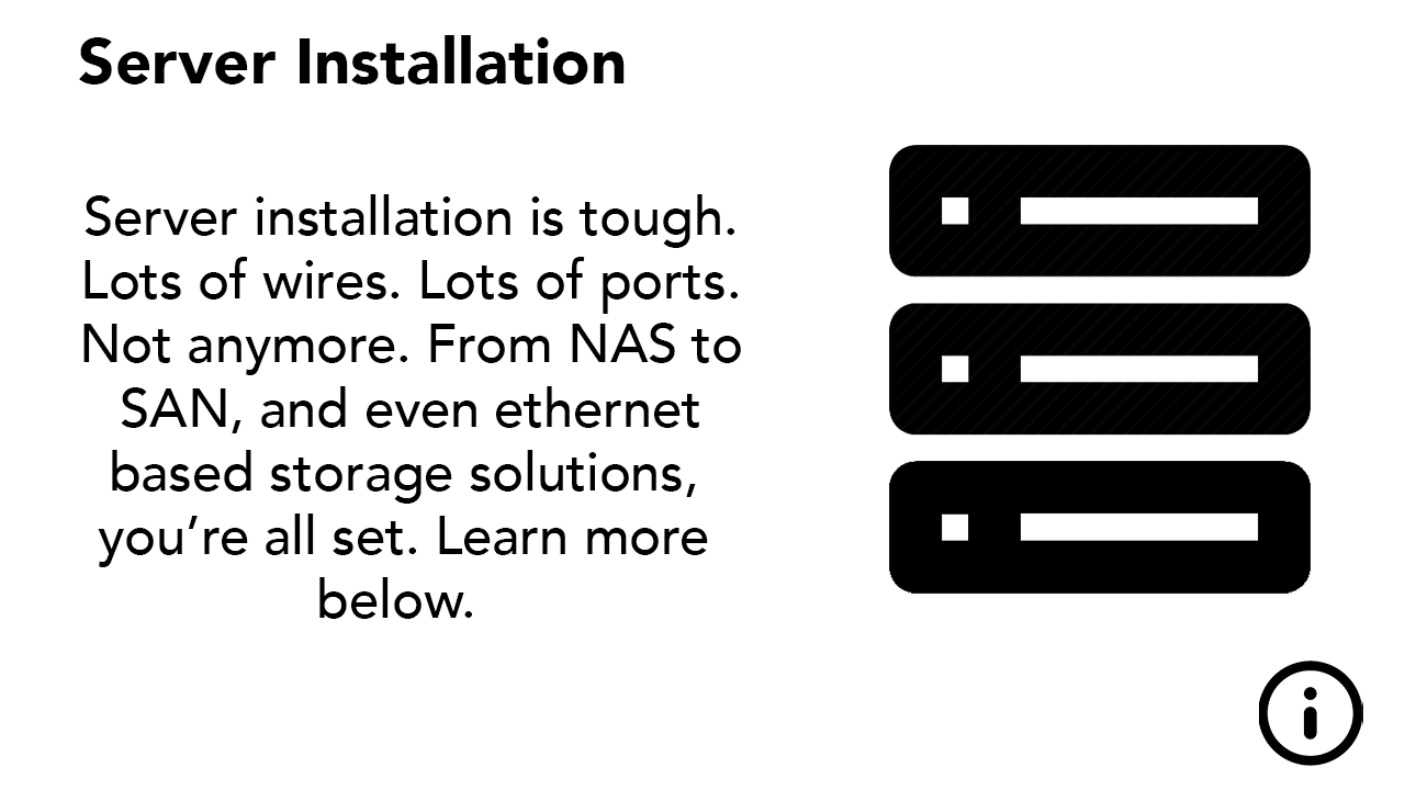 Server Installation Graphic