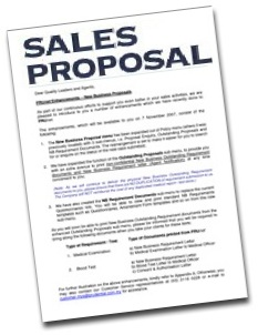 The Proposal – Sending across the right message (1/3)