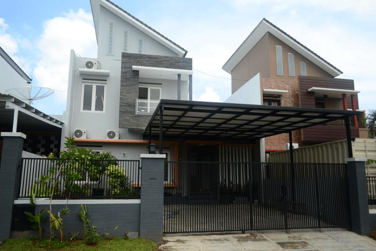 Pembuatan Kanopi dan Pagar The Hill Taman Sari Semarang