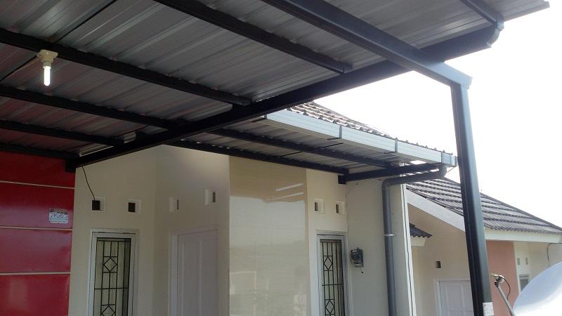 Pemasangan Kanopi Rumah di Bukit Fluorite Jaya Semarang