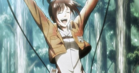 Attack on Titan: On determination and happiness