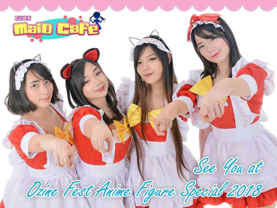 I'm fortunate to experience the last Ozine Maid Cafe ever