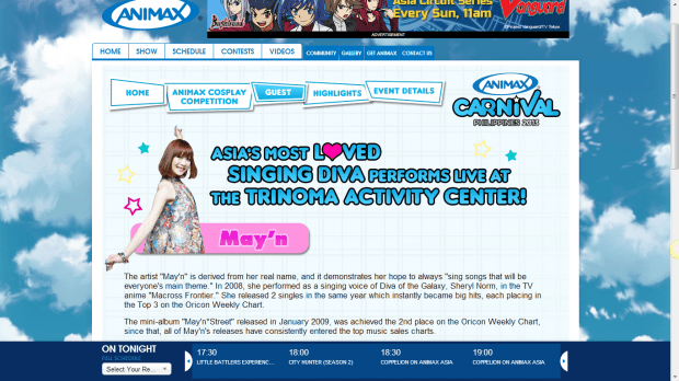 """""""May'n in Manila"""" and how the local Otaku media covers it — Now this is Hype we're talking about."""