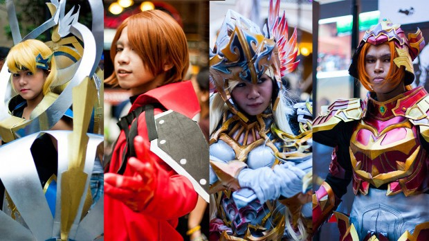 On Cosplay, the Fun edge and the Competitive edge.