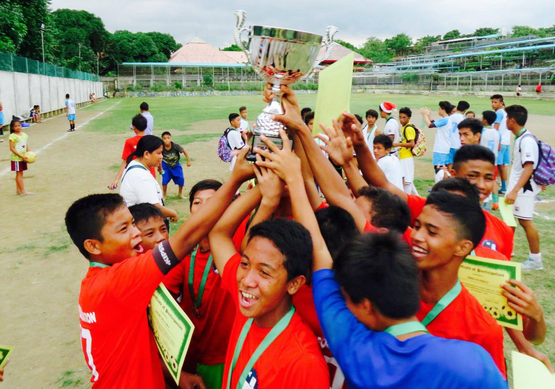 3rd Children's Christmas Charity Football Cup set this December 10
