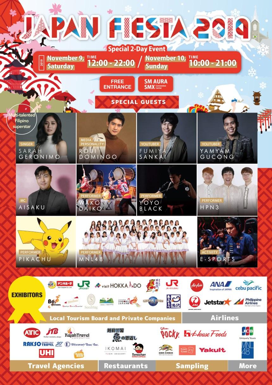 Japan Fiesta 2019 Poster