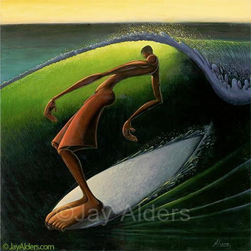 Jay Alders, una mirada a su Surf Art. (2/4)