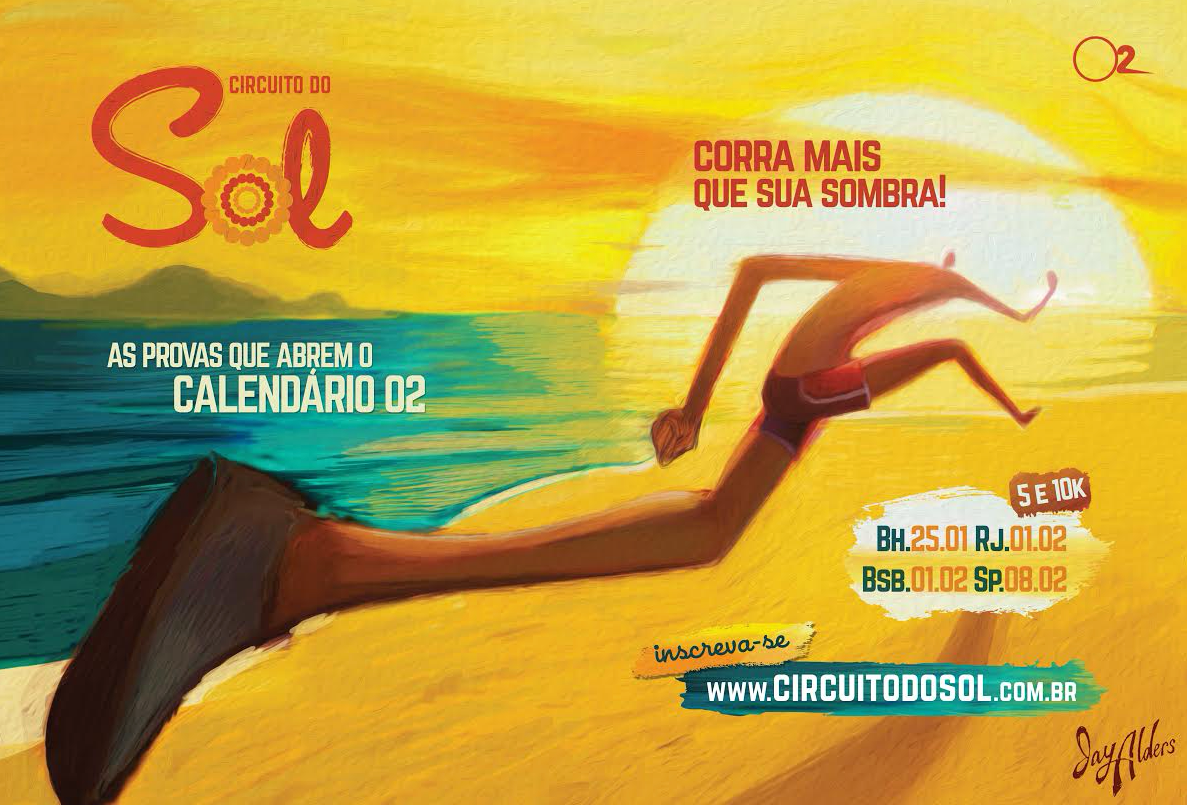 Circuito Do Sol 2014 - running art