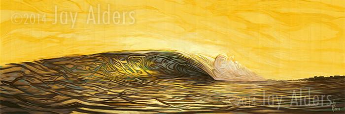 18th & Ocean - surfing art
