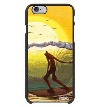 surf art iphone case belmar barrel