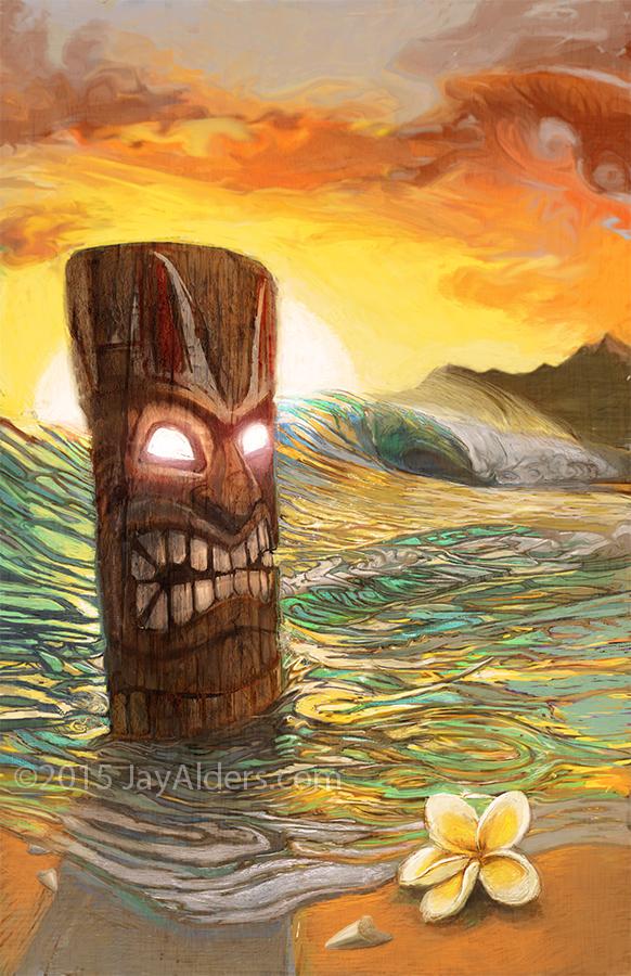 Tiki Sunrise