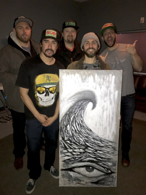 The Expendables with live painting artist Jay Alders