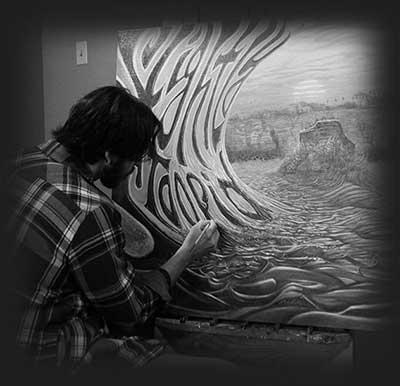 Jay Alders artist for Slightly Stoopid