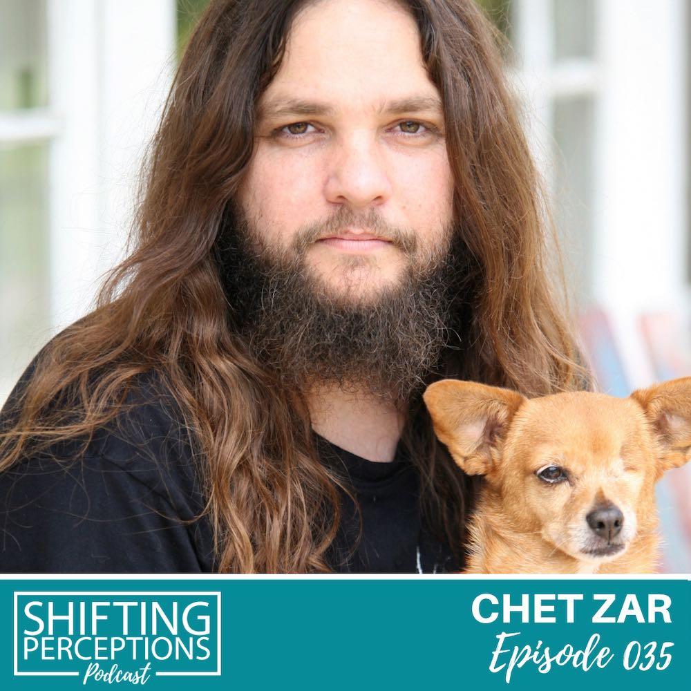 Podcast interview with Chet Zar Dark Artist