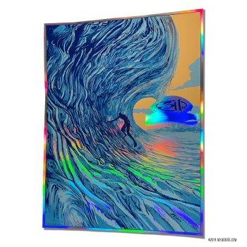 311 Artist Proof Rainbow Foil for July 24,2019 PNC show
