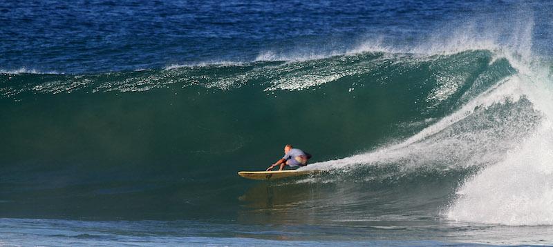 Vince Troniec Longboard Surfing