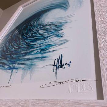 Ocean wave art print by Jay Alders