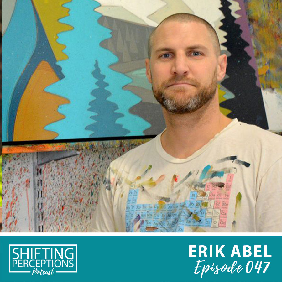 Erik Abel - surf and ocean inspired abstract artist