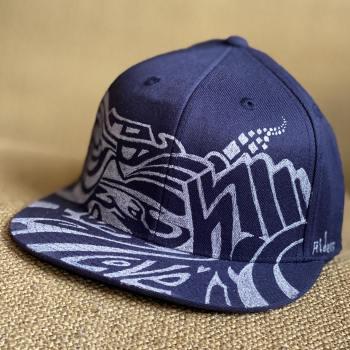graffiti style street art hat