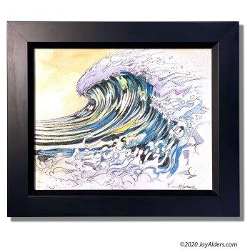 Wave Art #71420 by artist Jay Alders
