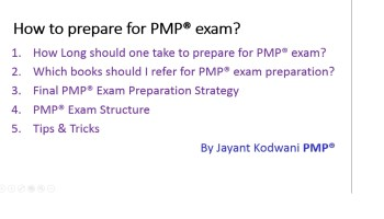 Pmp ittos based on pmbok 6th edition free jayantkodwani how to prepare for pmp exam ccuart Images