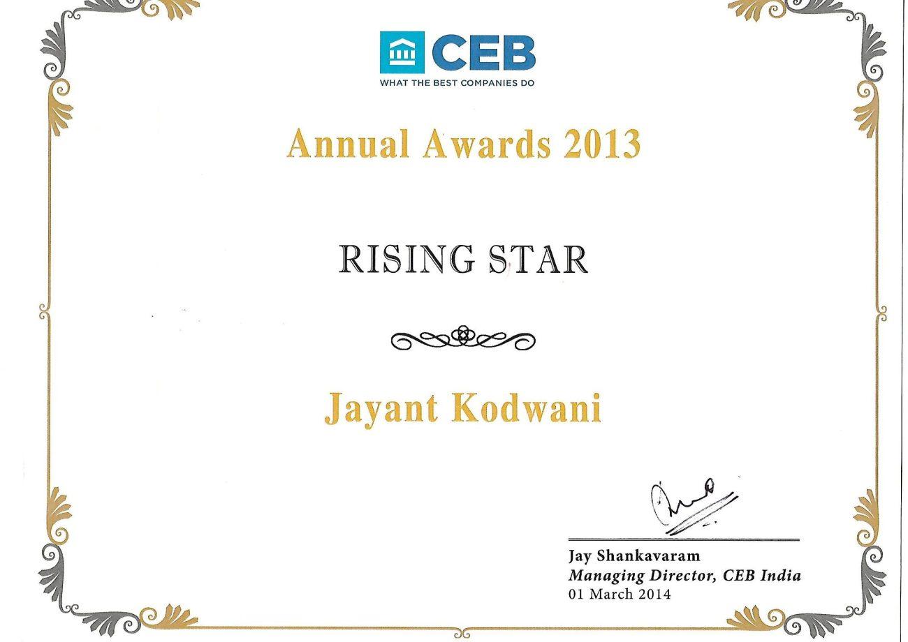CEB Award