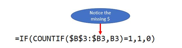 Excel Formula Count Distinct