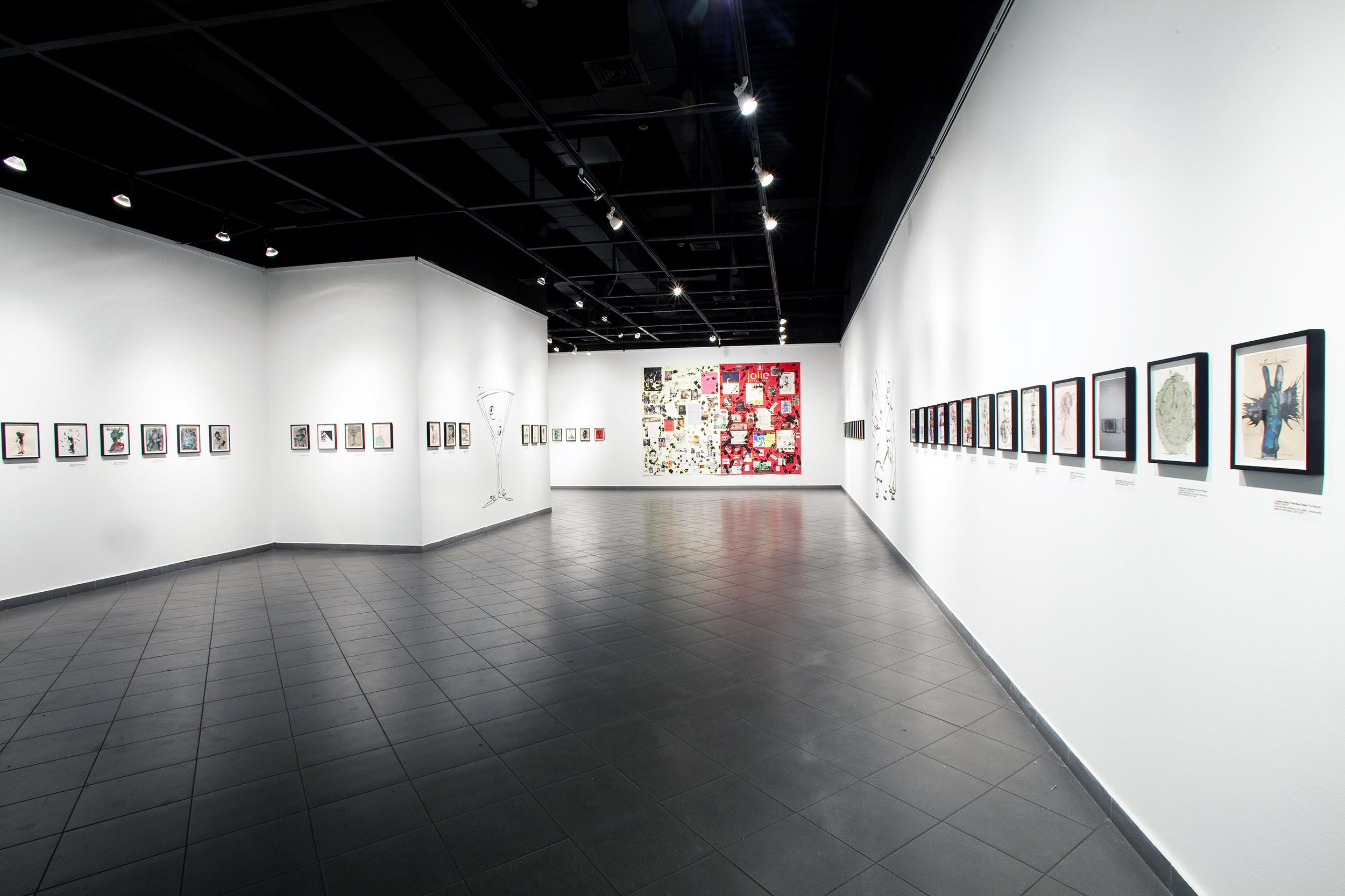 FREE LUNCH Solo Museum Exhibition National Museum Of Fine Arts Santiago de Chile